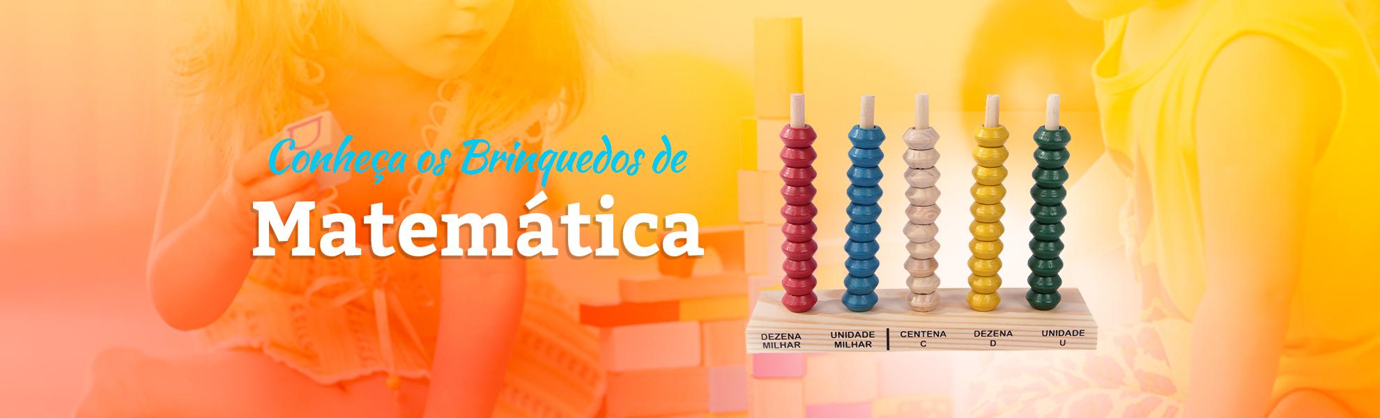 Brinquedos de Matemática