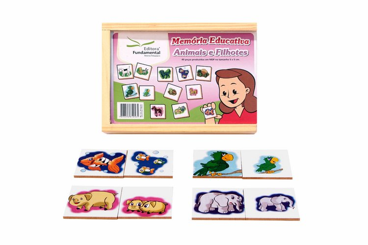Memória Educativa – Animais e Filhotes