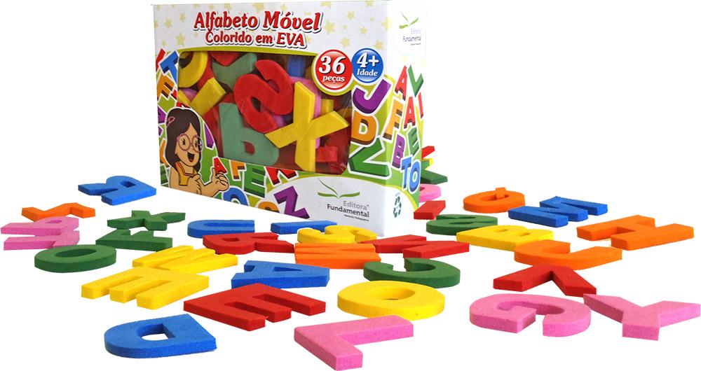 Alfabeto Móvel 36 Peças