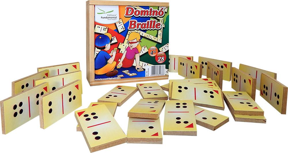 Dominó em braille